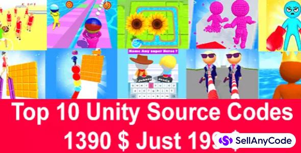 Nimmi Developers Mega Unity Bundle: TOP10 Games $1390 USD NOW!