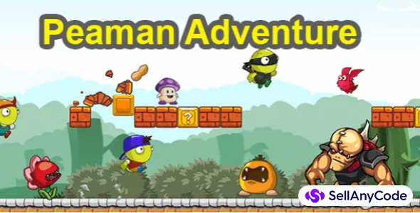 PEAMAN ADVENTURE – COMPLETE UNITY GAME