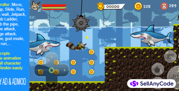 PLATFORM 2D: ALL IN ONE – ENGINE + FULL GAME
