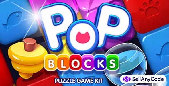POP Blocks – Puzzle Match Game Kit