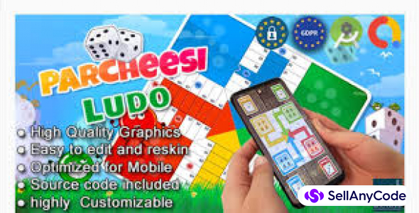Parcheesi Ludo (Android studio + Admob + GDPR)
