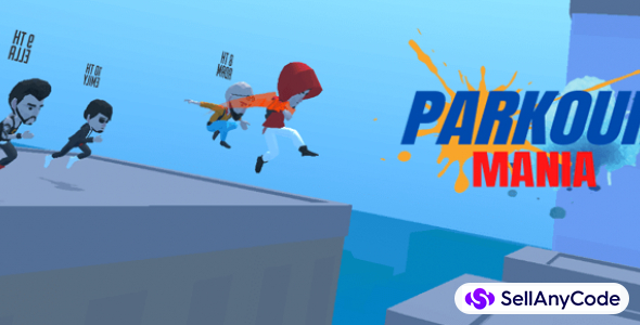 Parkour Mania – #1 Trending Parkour Racing Game (Admob Integrated)