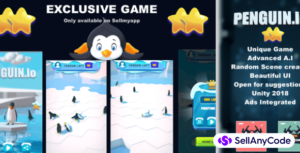 Penguin.io – Addictive Game