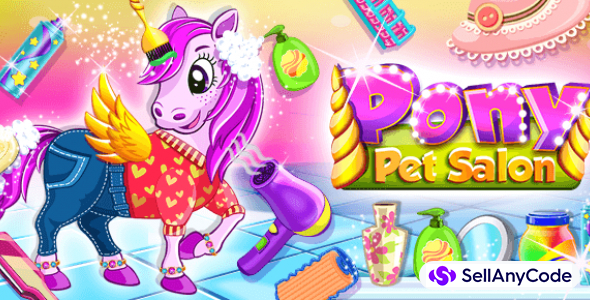 Pet Salon – Pony Care Games