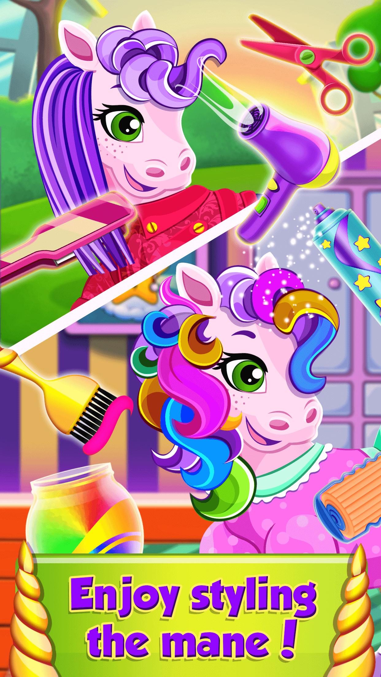 Pet Salon – Pony Care Games