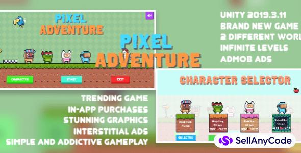 Pixel Adventure| Trending Game | New Product