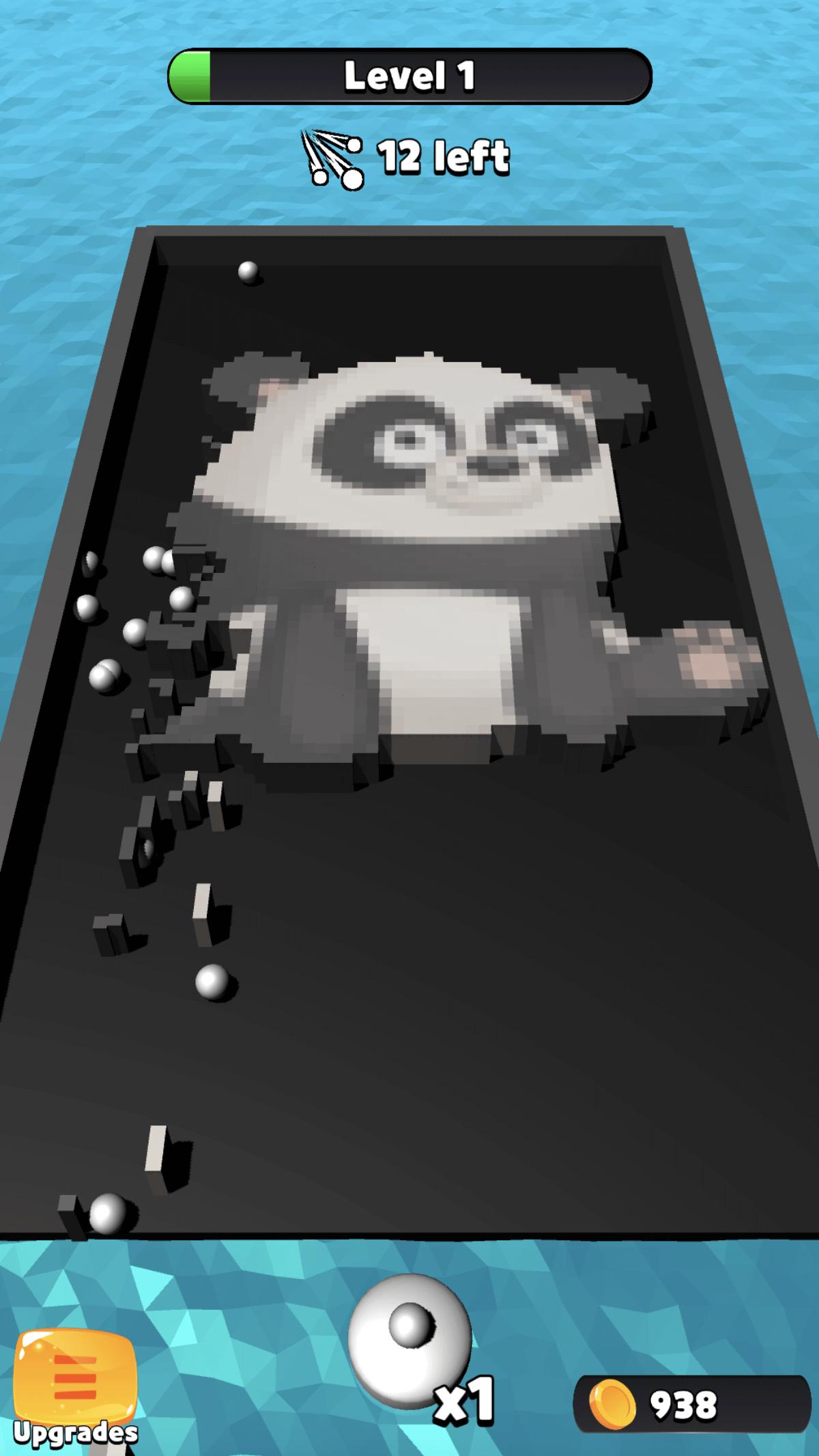 Pixel Art Balls – Hyper Casual Game