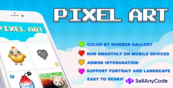 Pixel Art: Color By Number (Top Free Game)
