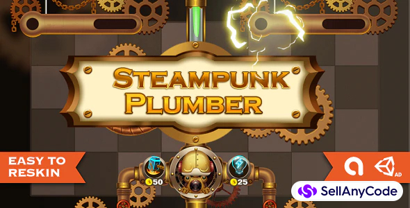 Plumber - Complete Unity Project with Level Toolkit