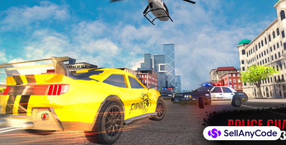 Police chase drive & shoot 3D