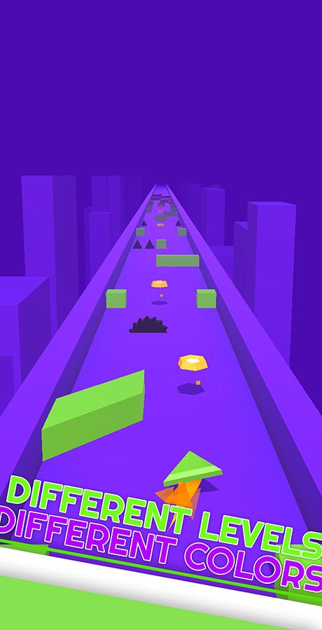 Polygon Rush - Hyper Casual Game