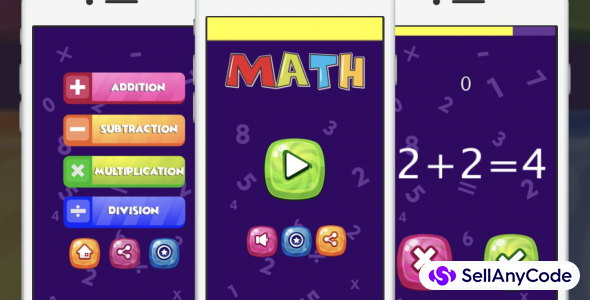 Quick Math Learning Brain Game