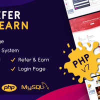Refer and Earn PHP Script