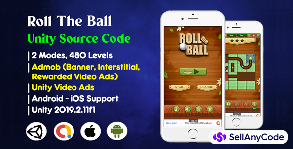 Roll The Ball Unity Source Code