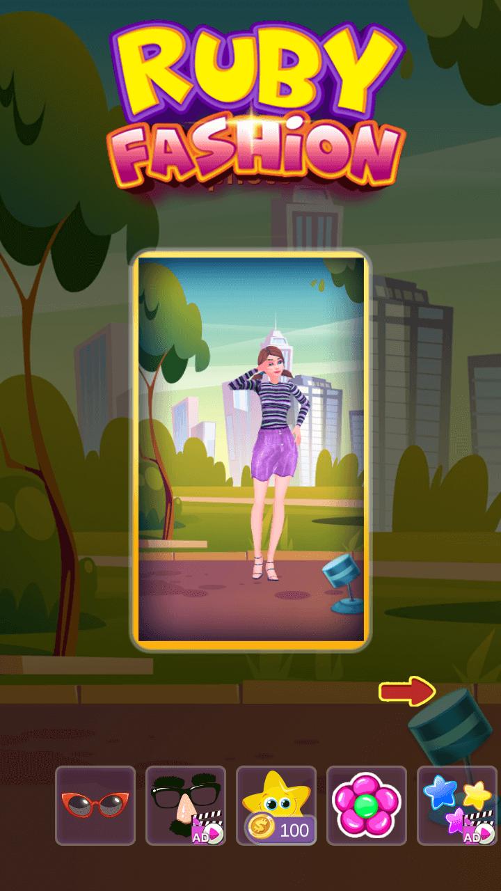 Ruby Fashion Game Unity