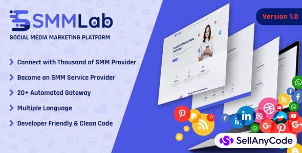 SMMLab - Social Media Marketing SMM Platform
