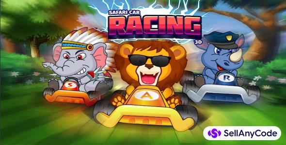 Safari Car Racing 3D - Unity Complete Game