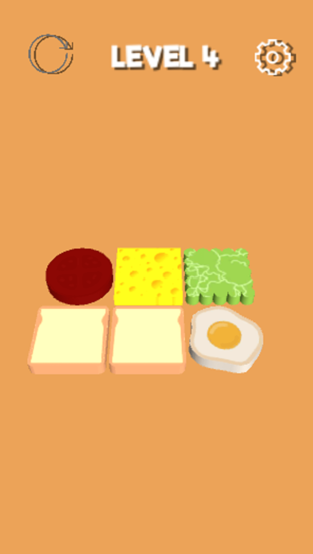 Sandwich Master Hyper Casual Game Template