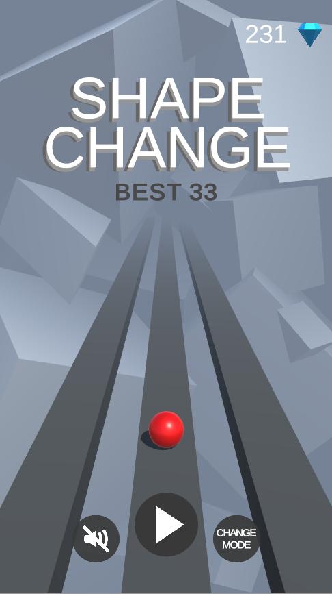 Shape Change - Complete Unity Game + Admob