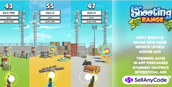 Shooting Range | Brand New Hypercasual Game | Trending Game