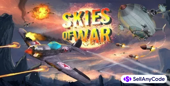 Skies Of War complete game + Action Game Support Unity 2017 64Bit