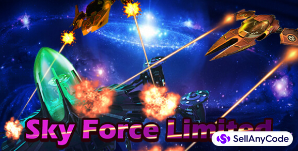 Sky Force Limited complete game + Best Game 2017 Support 64 Bit