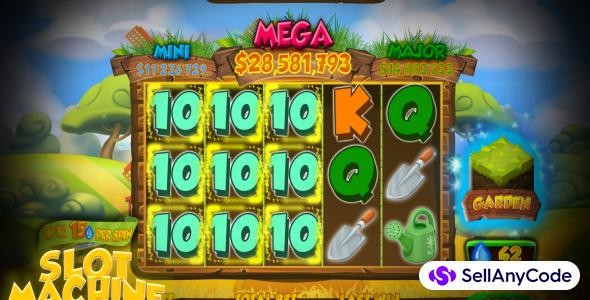 Slot Machine Garden