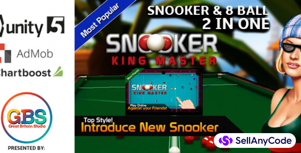 Snooker King Master: 8 Ball , 9 Ball , Pool