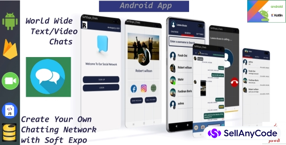 Softexpochats A Private Chatting Network App Text Video Chats