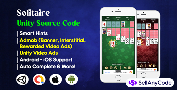 Solitaire Unity Source Code