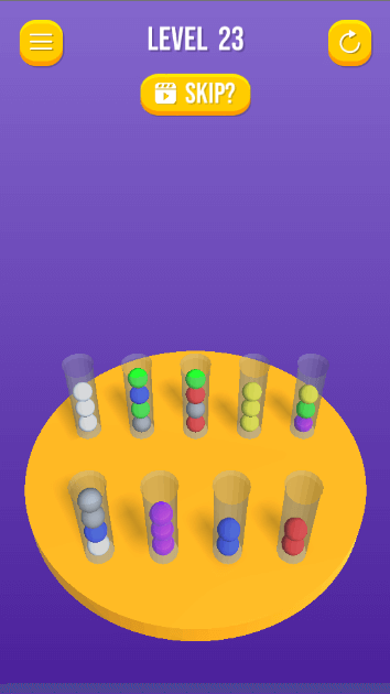 Sort the ball puzzle