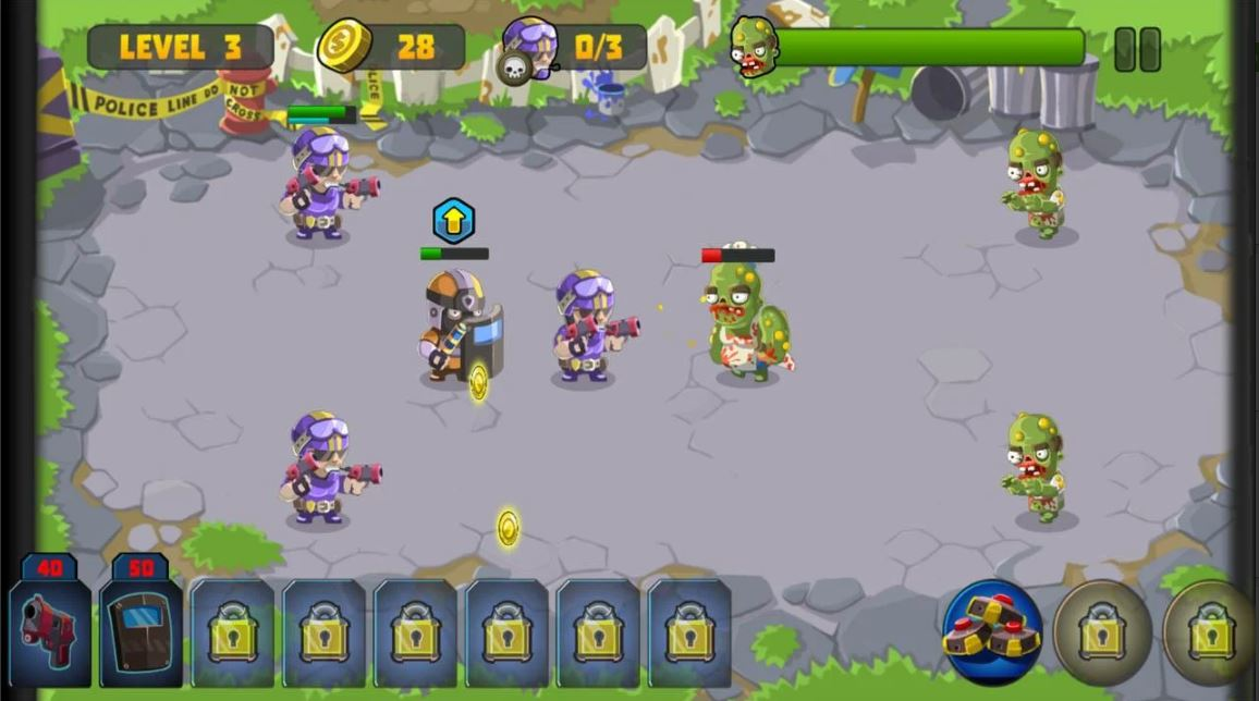 Special Squad Vs Zombie