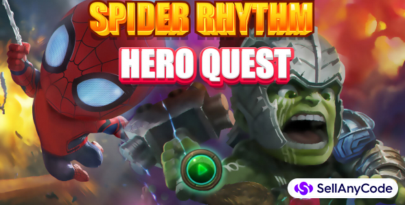 Spider Rmythm hero quest