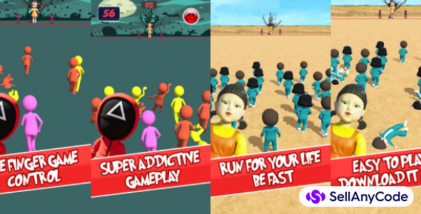 Squid Game(FREE 1 MORE GAME) Body Race