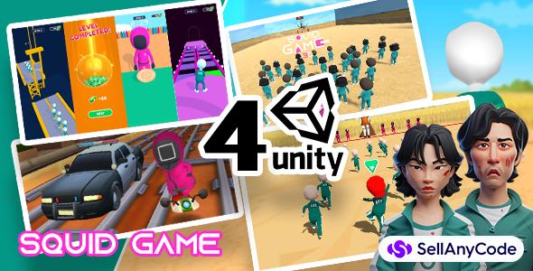 Squid Game's Exclusive Bundle Offer: 4 Top Trending Games