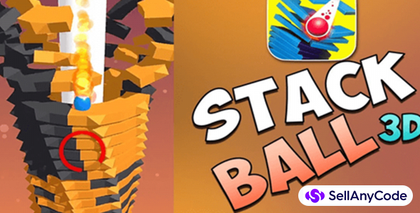 Stack Ball 3D With Unity and Admob Ads