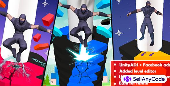 Stack Ninja Jumping Blast Fun