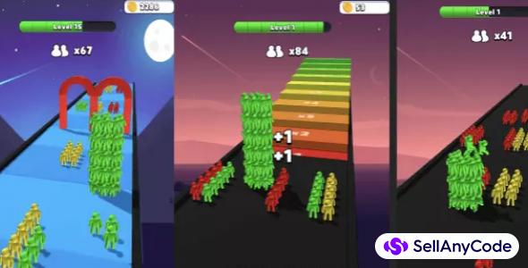 Stacky Guys Run – Hyper Casual Game