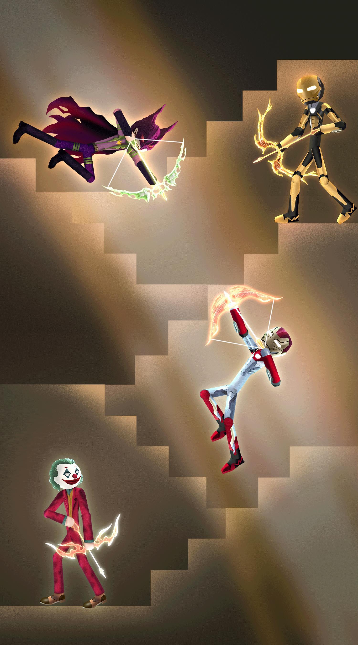 Stick Z Bow Super Stickman Legend