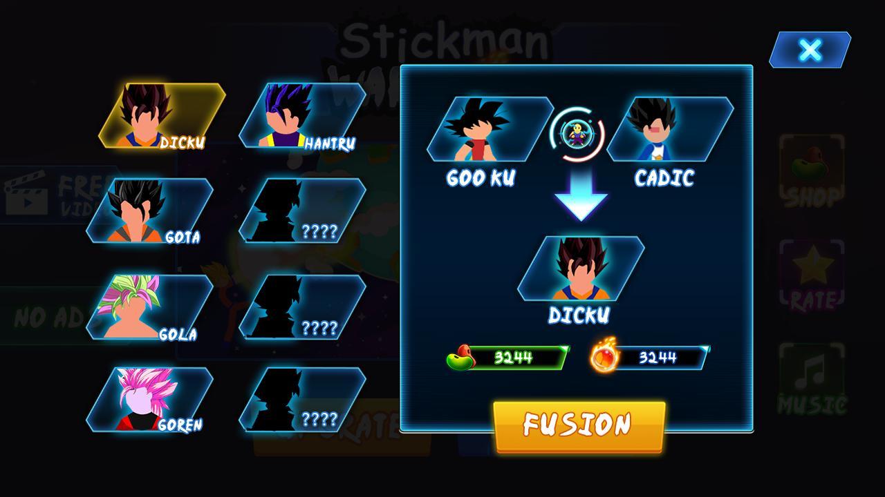 Stickman Warriors Z