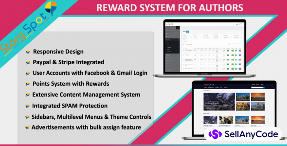 Story Spot - Rewards System For Authors