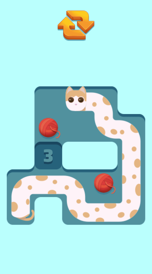 Stretch The Cat | Puzzle Game | Hypercasual Game