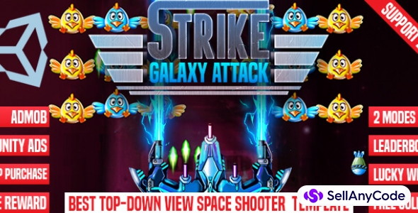 Strike Galaxy Attack- Chicken Invaders