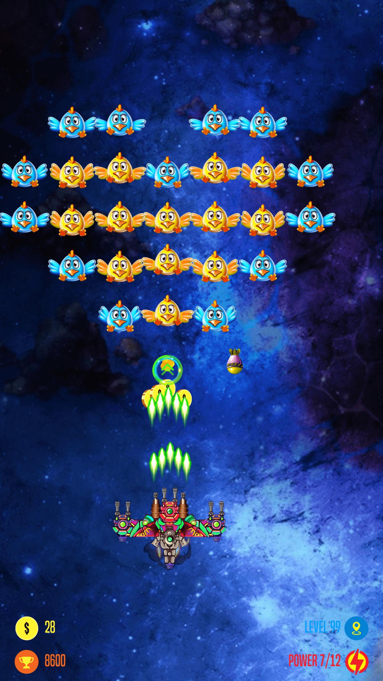 Strike Galaxy Attack- Chicken Invaders