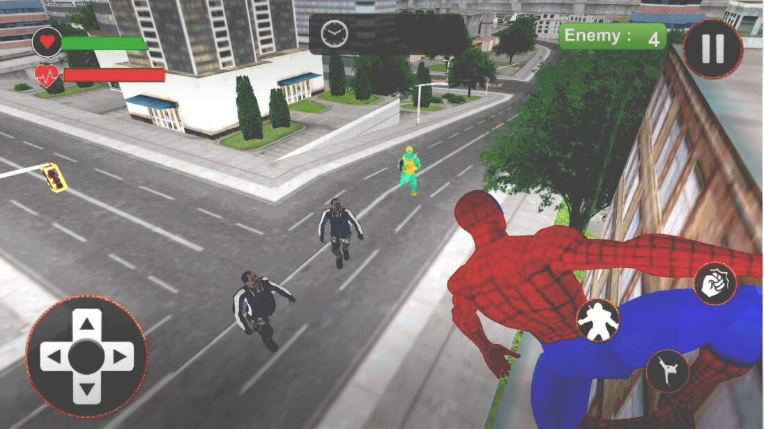 Super Heroes Street Fights : Crime City Battle 64 Bit