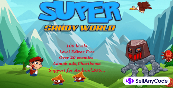 Super Sandy World complete game