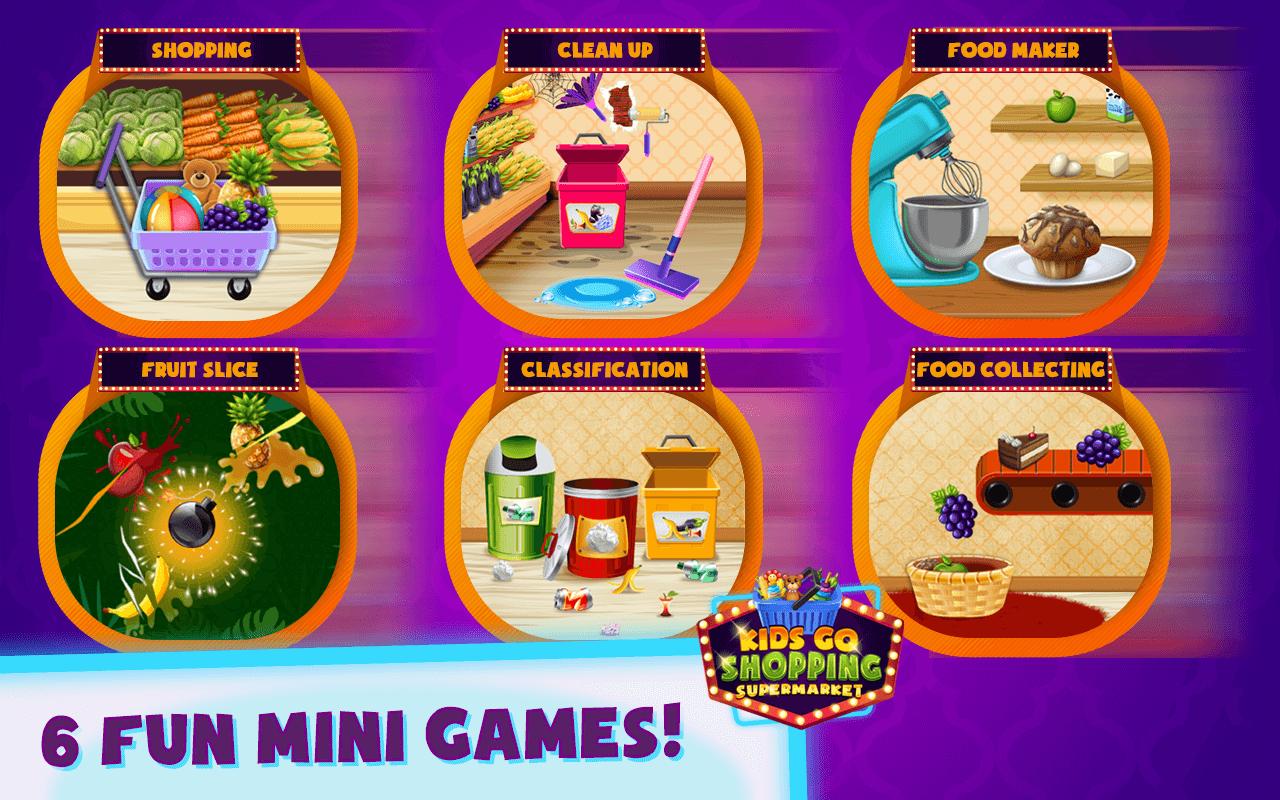 Supermarket Mania – Shopping Games