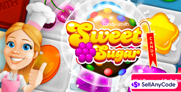 Sweet Sugar Match 3 + Mini Game