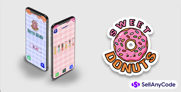 Sweet donuts sort puzzle