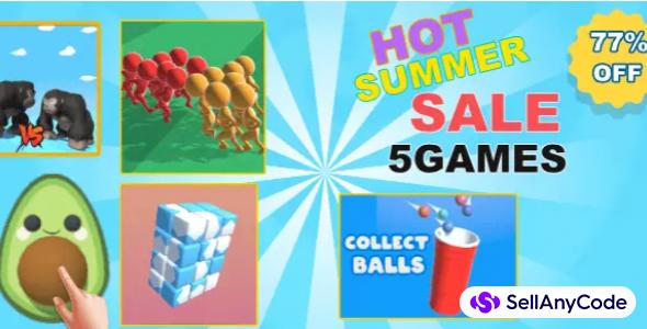 Tajine Studios Hot Summer Sale Offer: 5 TOP Trending Games